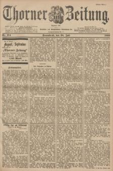 Thorner Zeitung : Begründet 1760. 1900, Nr. 174 (28 Juli) - Erstes Blatt