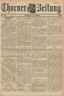 Thorner Zeitung. 1900, Nr. 194 (21 August) - Zweites Blatt