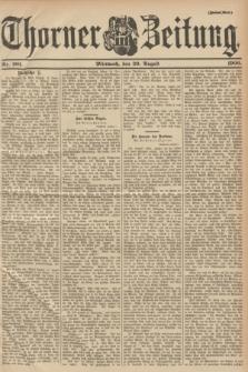 Thorner Zeitung. 1900, Nr. 201 (29 August) - Zweites Blatt