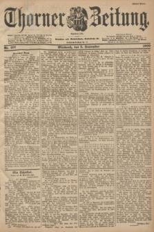 Thorner Zeitung : Begründet 1760. 1900, Nr. 207 (5 September) - Erstes Blatt