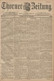 Thorner Zeitung : Begründet 1760. 1900, Nr. 218 (18 September) - Erstes Blatt