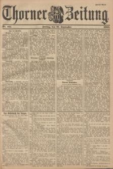 Thorner Zeitung. 1900, Nr. 221 (21 September) - Zweites Blatt