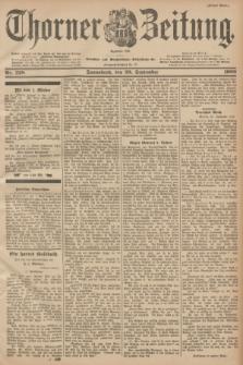 Thorner Zeitung : Begründet 1760. 1900, Nr. 228 (29 September) - Erstes Blatt