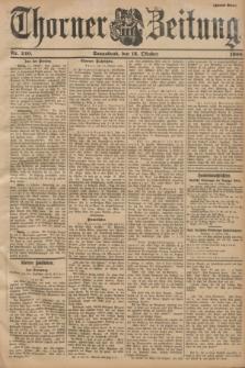 Thorner Zeitung. 1900, Nr. 240 (13 Oktober) - Zweites Blatt