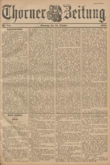 Thorner Zeitung. 1900, Nr. 241 (14 Oktober) - Zweites Blatt