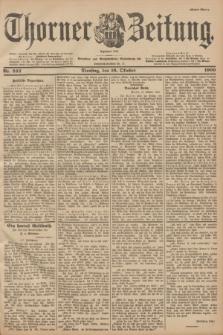Thorner Zeitung : Begründet 1760. 1900, Nr. 242 (16 Oktober) - Erstes Blatt