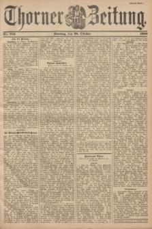 Thorner Zeitung. 1900, Nr. 253 (28 Oktober) - Drittes Blatt