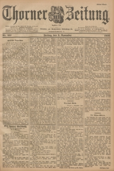 Thorner Zeitung : Begründet 1760. 1900, Nr. 257 (2 November) - Erstes Blatt