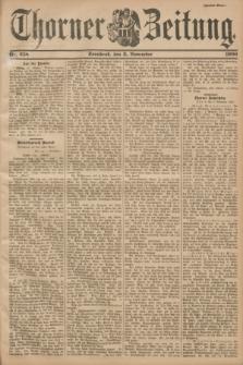 Thorner Zeitung : Begründet 1760. 1900, Nr. 258 (3 November) - Zweites Blatt