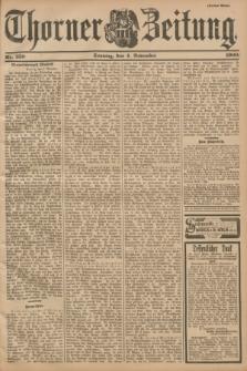 Thorner Zeitung : Begründet 1760. 1900, Nr. 259 (4 November) - Drittes Blatt
