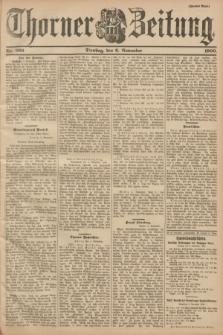 Thorner Zeitung : Begründet 1760. 1900, Nr. 260 (6 November) - Zweites Blatt