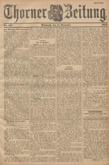 Thorner Zeitung. 1900, Nr. 267 (14 November) - Zweites Blatt