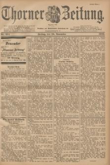 Thorner Zeitung : Begründet 1760. 1900, Nr. 274 (23 November) - Erstes Blatt