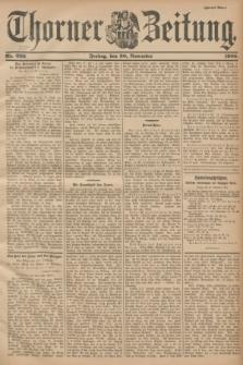 Thorner Zeitung. 1900, Nr. 309 [i.e.280] (30 November) - Zweites Blatt