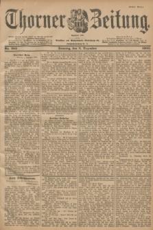 Thorner Zeitung : Begründet 1760. 1900, Nr. 282 (2 Dezember) - Erstes Blatt