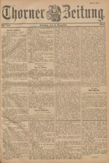 Thorner Zeitung. 1900, Nr. 282 (2 Dezember) - Zweites Blatt