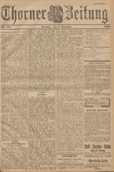 Thorner Zeitung. 1900, Nr. 282 (2 Dezember) - Drittes Blatt