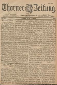 Thorner Zeitung : Begründet 1760. 1900, Nr. 283 (4 Dezember) - Erstes Blatt