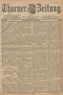 Thorner Zeitung : Begründet 1760. 1900, Nr. 285 (6 Dezember) - Erstes Blatt