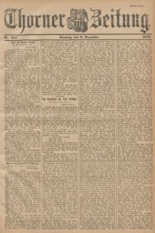 Thorner Zeitung. 1900, Nr. 288 (9 Dezember) - Drittes Blatt