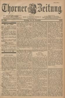 Thorner Zeitung : Begründet 1760. 1900, Nr. 295 (18 Dezember) - Erstes Blatt