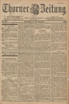 Thorner Zeitung : Begründet 1760. 1900, Nr. 297 (20 Dezember) - Erstes Blatt