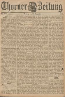 Thorner Zeitung. 1900, Nr. 300 (23 Dezember) - Zweites Blatt