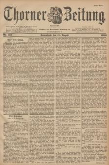 Thorner Zeitung : Begründet 1760. 1900, Nr. 192 (18 August) - Erstes Blatt
