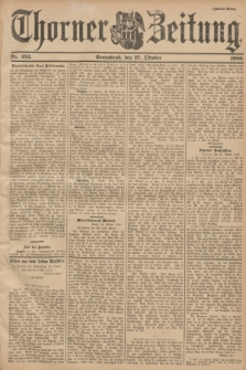 Thorner Zeitung : Begründet 1760. 1900, Nr. 252 (27 Oktober) - Zweites Blatt