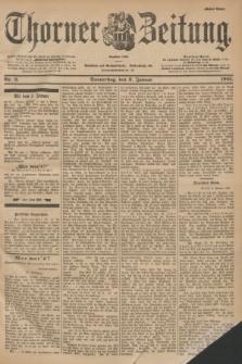Thorner Zeitung : Begründet 1760. 1901, Nr. 2 (3 Januar) - Erstes Blatt