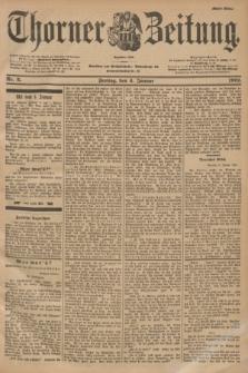 Thorner Zeitung : Begründet 1760. 1901, Nr. 3 (4 Januar) - Erstes Blatt