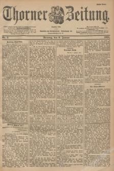 Thorner Zeitung : Begründet 1760. 1901, Nr. 5 (6 Januar) - Erstes Blatt