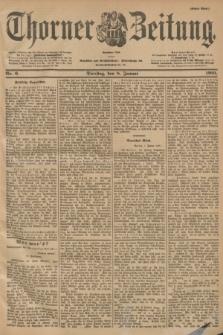 Thorner Zeitung : Begründet 1760. 1901, Nr. 6 (8 Januar) - Erstes Blatt