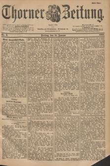 Thorner Zeitung : Begründet 1760. 1901, Nr. 9 (11 Januar) - Erstes Blatt