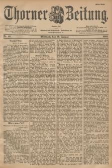 Thorner Zeitung : Begründet 1760. 1901, Nr. 13 (16 Januar) - Erstes Blatt