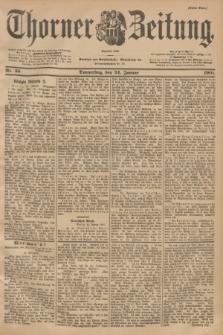 Thorner Zeitung : Begründet 1760. 1901, Nr. 20 (24 Januar) - Erstes Blatt
