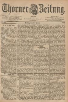 Thorner Zeitung : Begründet 1760. 1901, Nr. 21 (25 Januar) - Erstes Blatt