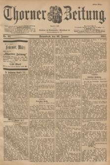 Thorner Zeitung : Begründet 1760. 1901, Nr. 22 (26 Januar) - Erstes Blatt