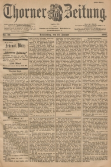 Thorner Zeitung : Begründet 1760. 1901, Nr. 26 (31 Januar) - Erstes Blatt