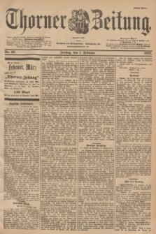 Thorner Zeitung : Begründet 1760. 1901, Nr. 27 (1 Februar) - Erstes Blatt