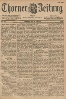 Thorner Zeitung : Begründet 1760. 1901, Nr. 31 (6 Februar) - Erstes Blatt