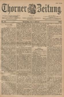 Thorner Zeitung : Begründet 1760. 1901, Nr. 32 (7 Februar) - Erstes Blatt