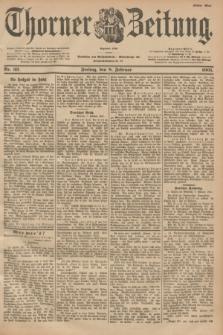 Thorner Zeitung : Begründet 1760. 1901, Nr. 33 (8 Februar) - Erstes Blatt