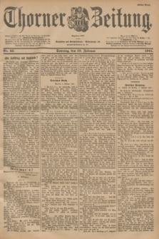 Thorner Zeitung : Begründet 1760. 1901, Nr. 35 (10 Februar) - Erstes Blatt