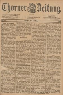 Thorner Zeitung : Begründet 1760. 1901, Nr. 54 (5 März) - Erstes Blatt