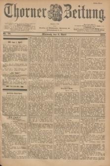 Thorner Zeitung : Begründet 1760. 1901, Nr. 79 (3 April) - Erstes Blatt