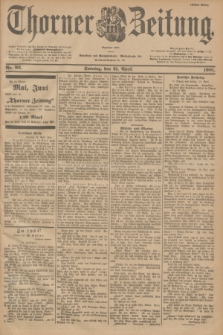 Thorner Zeitung : Begründet 1760. 1901, Nr. 93 (21 April) - Erstes Blatt