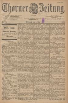 Thorner Zeitung : Begründet 1760. 1901, Nr. 101 (1 Mai) - Erstes Blatt
