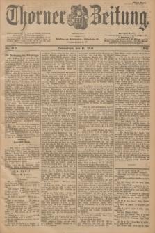 Thorner Zeitung : Begründet 1760. 1901, Nr. 110 (11 Mai) - Erstes Blatt
