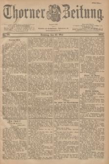 Thorner Zeitung : Begründet 1760. 1901, Nr. 111 (12 Mai) - Erstes Blatt
